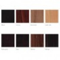 Wood stained colours